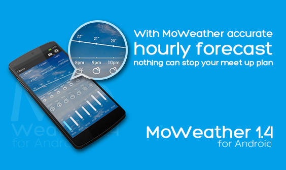 MoWeather 1.4 for Android 版正式发布!(7月31日)